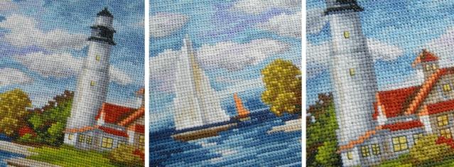 seaside beauty cross stitch pattern 2